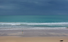 beach walk (back from Australia) Tags: oceania ocean australia beach waves walking travel greatoceanroad ivodedecker minimalistic