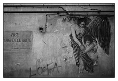 endless friendship (Alexandre Dulaunoy) Tags: endlessfriendship poster streetart art wall napoli graffiti dirtywall