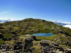 Alpes (laudato si) Tags: lac lake water neige snow montagnes alpes alps mountain landscape paysage