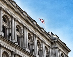 A Flag Of History (bastag82) Tags: london parliament square flag uk unitedkingdom history royal