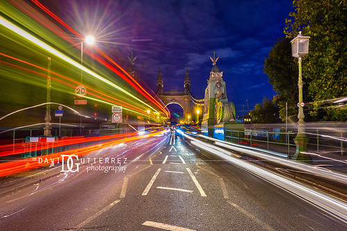 Hammersmith Bridge (II), London, UK
