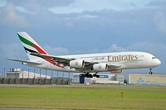 Emirates Airline A6-EDH Airbus A380-861 cn/025 @ Buitenveldertbaan EHAM / AMS 14-08-2018 (Nabil Molinari Photography) Tags: emirates airline a6edh airbus a380861 cn025 buitenveldertbaan eham ams 14082018