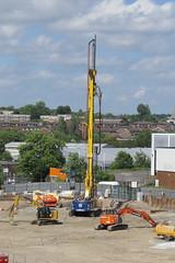 Digging equipment on building site (Ian Press Photography) Tags: digging equipment building site construction bore boring borehole