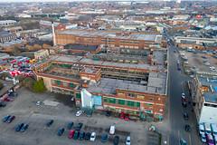 Birmingham 2019 (scrappy nw) Tags: scrappynw scrappy birmingham england rotten midlands interesting drone dji djimavicpro djimavic2pro mavicpro mavic mavic2pro abandoned typhoo typhootea factory forgotten citycentre city