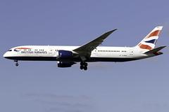 British Airways 787-9 G-ZBKK at London Heathrow LHR/EGLL (dan89876) Tags: british airways boeing 787 dreamliner b789 7879 gzbkk london heathrow international airport 27l lhr egll