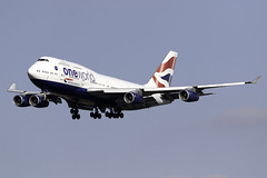 British Airways 747-400 G-CIVC at London Heathrow LHR/EGLL (dan89876) Tags: british airways boeing 747 queen one world livery b744 747400 gcivc london heathrow international airport 27l lhr egll