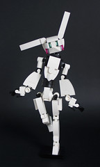 MIHIBOT, the mecha bunny (Loysnuva) Tags: lego moc mech mecha monday loli bunny easter idol system cute kawaii anime figure mihibot robot girl bionifigs loysnuva drossel