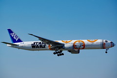 JA789A - All Nippon Airways (Star Wars BB-8 Livery) - Boeing 777-381(ER) (b_kohnert) Tags: germany eddfairportfrankfurtammain boeing777381er allnipponairways airport airplane airline aircraft air