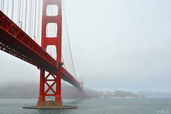 Boira @ Golden Gate @ San Francisco (vdbdc) Tags: golden gate bridge san francisco marin county fog california usa 1937