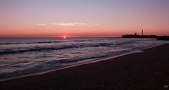 La Caleta (lauracastillo5) Tags: landscape sea seascape coast coastline horizon ocean beach sunset sunrise sun beautiful pink sky sand waves