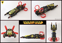 Lucky Wolf (spaceruner) Tags: lego moc space blacktron i invader 6894 spaceship 90s theme