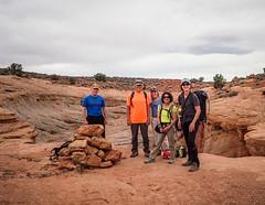 Ready for Larry's Canyon (s_mestdagh) Tags: 2019 utah canyoneering steve mia