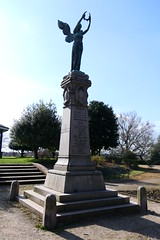 Second Boer War Memorial (Ian R. Simpson) Tags: warmemorial memorial statue angel plinth southafricanwar18991902 southafricanwar 18991902 secondboerwar castlepark park penrith cumbria