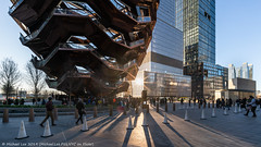 Long Shadows (20190317-DSC04586) (Michael.Lee.Pics.NYC) Tags: newyork hudsonyards vessel shadow sunset architecture cityscape sony a7rm2 voigtlanderheliar15mmf45