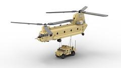 CH-47F 14 (DarthDesigner) Tags: ldd moc builds instructions bricks brick mocs legodigitaldesigner starwars oninemesis thedarthdesigner tdd military lego digitaldesigner darth ch47chinook ch47 chinook