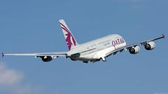 A7-API (Andras Regos) Tags: aviation aircraft plane fly airport bud lhbp spotter spotting takeoff qatar qatarairways airbus a380
