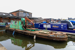 20190415 0053  Canal Work Boat Diglis Basin Birmingham Canal Worcester (rodtuk) Tags: 4star boat england flipublic flickr midlands phototype places rating rodt roderict roderickt uk vehboat vehicle wip worcester worcestershire