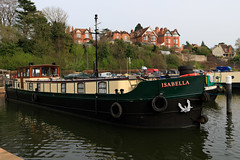20190415 0049 Canal Boats and Appartments Diglis Basin Birmingham Canal Worcester (rodtuk) Tags: 4star boat england flipublic flickr midlands phototype places rating rodt roderict roderickt uk vehboat vehicle wip worcester worcestershire