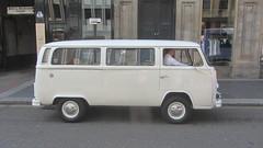 Volkswagen Bus Type 2 Wedding Vehicle Spotted In Glasgow Scotland - 1 Of 3 (Kelvin64) Tags: volkswagen bus type 2 wedding vehicle spotted in glasgow scotland