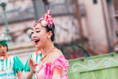 Ballerina (EatThisLight) Tags: tiptopeaster easter disney tokyo japan tokyodisneysea sea themepark performer dancer girl smile pretty show pink lovely