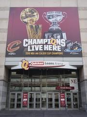 Arcade entrance to Quicken Loans Arena (procrast8) Tags: cleveland ohio oh quicken loan arena basketball nba cavaliers calder cup
