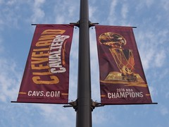 2016 NBA Championship banner (procrast8) Tags: cleveland ohio oh quicken loan arena basketball nba cavaliers