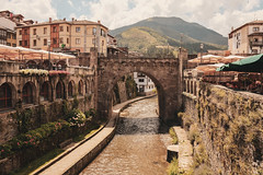 Potes, Spain (bior) Tags: potes spain cantabria village fujifilmxpro2 river bridge archbridge xf18mmf2r