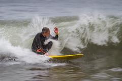 Surf en Samil (dfvergara) Tags: vigo galicia españa surf surfista surfero samil playa deporte agua ola playadesamil espuma bajavelocidad tabla