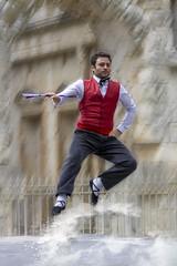 Maître de danse (Xtian du Gard) Tags: xtiandugard nîmes danse folklore féria