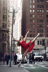 (dimitryroulland) Tags: nikon d750 85mm 18 dimitryroulland ny newyorkcity newyork nyc urban street city dance dancer pointe ballet ballerina red dress people buildings wallstreet natural light performer art artist flexible flexibility