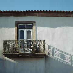 Arriving in Peroviseu (lebre.jaime) Tags: portugal beira peroviseu architecture balcony hasselblad 500cm cf3560 distagon kodak portra160120 portra160 iso125 analogic film120 6x6 mf mediumformat squareformat epson v600 affinity affinityphoto