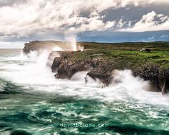 Bufones de Pría (David Balado Fotografía) Tags: sea mar asturias travel landscape coastline landscapephotography travelphotography viajar españa spain tourism turismo longexposure larga exposicion