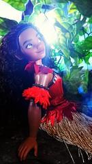 In the shade (custombase) Tags: disney store classics singing doll moana toyphotography