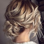 36 Messy Wedding Hair Updos For A Gorgeous Rustic Country Wedding To Chic Urban Wedding thumbnail