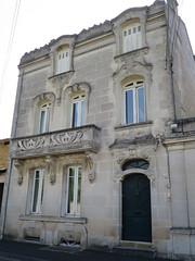 Maison de style Art Nouveau (1912) - 80 rue Marguerite de Navarre, Cognac (16) (Yvette G.) Tags: cognac 16 charente poitoucharentes nouvelleaquitaine architecture belleépoque artnouveau