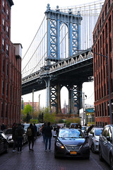Manhattan Bridge (Anthony Mark Images) Tags: manhattanbridge cars people newyork bigapple brooklyn empirestatebuiulding nikon d850 newyorkcity newyorknewyork flickrclickx usa