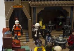 Nar Shaddaa Cantina (Ben Cossy) Tags: lego moc afol tfol star wars bounty hunter cantina bar alien