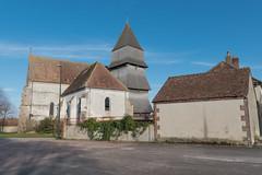 _DSC9635 (bruno.clement89) Tags: l'église de l'assomption la vierge villemaursurvanne est remarquable pour son clocher étagé couvert d'essentes bois et plus encore sculptédaté 1521