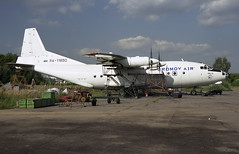 RA-11650 - Moscow Zhukovsky (ZHU) 17.08.2001 (Jakob_DK) Tags: an12 antonov antonov12 antonovan12b an12b cargo uubw zia moscowzhukovsky zhukovskyinternationalairport gai gromovair 2001 ra11650