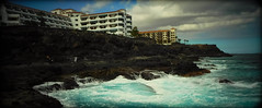 Tenerife on the rock (Nicolas Valentin) Tags: tenerife island spain sea rock holiday sun sky mer aqua fishing