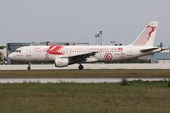Airbus A320-211 Tunisair (Carthage Eagles FIFA 2018 Livery) TS-IML (Niko Hpx) Tags: الخطوطالتونسية airbusa320211 airbus a320200 a320 a320211 320211 tunisair carthageeaglesfifa2018livery tsiml msn958 cn958 fwwbi cfmicfm565a1 cfmi cfm565a1 cfminternational nte lfrs nantesatlantique bouguenais tu tar tunnair gafsaksar fifa2018 taxiway russia2018