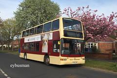 Go Ahead East Yorkshire 672,  YY52LCM. (EYBusman) Tags: eybusman yy52lcm b7tl volvo president plaxton bridlington queensgate coach bus hull eyms services motor yorkshire east north ahead go