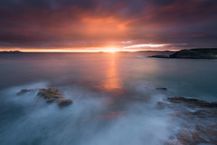 Paxariñas (jojesari) Tags: paxariñas sanxenxo pontevedra galicia jojesari suso sunset ocaso puestadesol filtros filter haida nisi