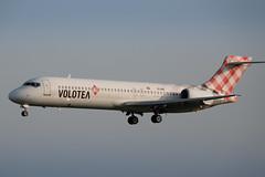 Volotea - Boeing 717 [EI-EXB] at Luxembourg Airport - 22/04/19 (David Siedler) Tags: volotea boeing boeing717 b717 eiexb luxembourg findel airport luxembourgairport findelairport luxellx