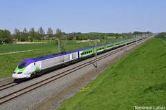 L'IZY ex-TMST de passage à Tourpes en route pour Bruxelles-Midi ce 22 avril 2019. (photographie.photographie) Tags: eurostar tmst hst trainlgv hsl london paris brussels
