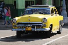 CUBA (gabrielebettelli56) Tags: cuba havana car yellow taxi nikon travel viaggi