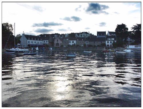 Petit port de Bretagne (3) - Anse de Penfoul (entre Bénodet et Sainte-Marine)