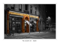 Dublin at night (metsemakers) Tags: dublin bar pub restaurant ireland sony night tamron 50mm blackwhite monochrome