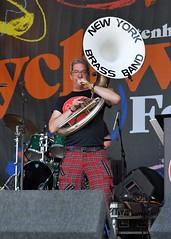 193-20180602_14th Wychwood Music Festival-Cheltenham-Gloucestershire-Main Stage-New York Brass Band-tuba (Nick Kaye) Tags: wychwood music festival cheltenham gloucestershire england