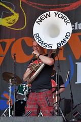 191-20180602_14th Wychwood Music Festival-Cheltenham-Gloucestershire-Main Stage-New York Brass Band-tuba (Nick Kaye) Tags: wychwood music festival cheltenham gloucestershire england